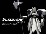 BLIZZARD type-II-C(指揮官機)