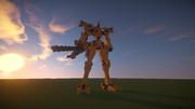 【Minecraft】00式戦術歩行戦闘機《武御雷》F型 篁唯依機