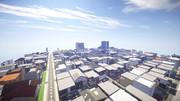【Minecraft】住宅街の風景