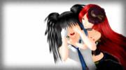 【UTAUカバー+MMD】 ノイジー・ワーミー 【波音リツ・欲音ルコ】1