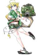 戦車kv-1s擬人化・新立ち絵