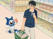 スーパーでおかいもの