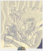 聖闘士星矢  琴座(ライラ)の オルフェ & ユーリディス (Eurydice)