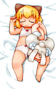 ポメアサの抱き枕