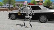 【MMDモデル配布あり】汎用警察ロボット ポリスワーカー