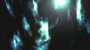 洞窟の天井見上げたら光が射していた