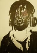ガスマスクが描きたかったんじゃ