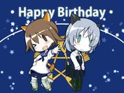 サーニャ&芳佳 誕生日おめでとう!
