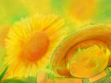 夏と向日葵と茜ちゃん