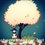 桜の木とおんなのこ