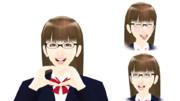 【MMDモデル配布】表情モーフ搭載エキストラ:WEP式HyperD子