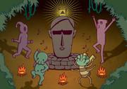 ラヴクラフト御大の誕生日を待ちきれず踊り狂う邪神たち