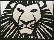 【切り絵】ライオンキング