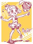 【らくがき】ピカ&ユリーカ&デデンネ【ポケモン】