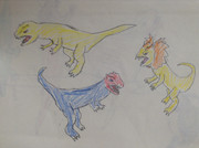 大型肉食恐竜