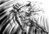 ヒュージフェアリー vs ヨウカイスレイヤー