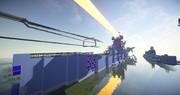 【マインクラフト】蒼き鋼のアルペジオ 蒼き鋼 重巡洋艦 タカオ