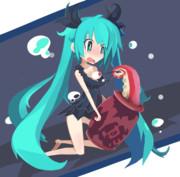 深海少女さん