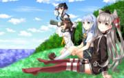 【艦これ】第十六駆逐隊!天津風、初風、時津風、雪風!【捕獲せよ】