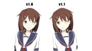 【MMD艦これ】LNSEAB式古鷹改二モデル更新