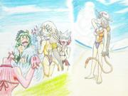 ~ギラねえの海水浴~