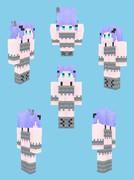 【Minecraft 】シルバーフィッシュ風衣装