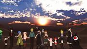 【MMD戦勇。】てをつなごう【祝5周年!】