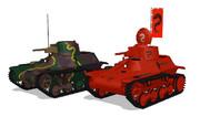 九七式軽装甲車 テケ 配布します!