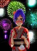 神奈子様と花火大会