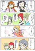 ミリマス4コマ【女子力】