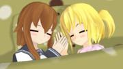 天使たちのお昼寝
