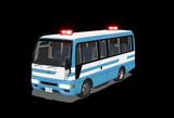 【MMD】中型輸送車(警察)作成中 3
