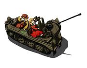 半装軌自走七分対空機関砲 「壺中天」