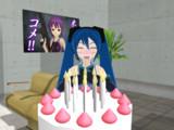 ミクちゃん誕生日\_(^◇^)_/\(*^^*)/ おめでとっ!
