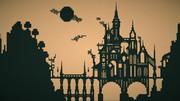 【Minecraft影絵】魔女の住む城