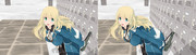 【MMD】恋愛シミュレーションゲーム アタゴル【立体視:平行法】