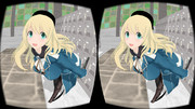 【MMD】恋愛シミュレーションゲーム アタゴル【立体視:平行法エフェクト】