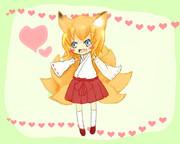 【オリジナル】狐柚の妹【名前募集