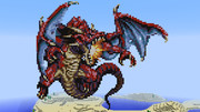 【Minecraft】レッドドラゴン