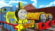 【第一回MMD顔芸選手権】違うよビル、新しい機関車じゃなくてトーマスだよ!