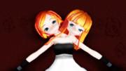 双頭少女とベッド