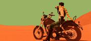 バイクとコーラ