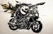 バイクのカービィ