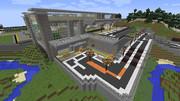 【Minecraft】空港 - 外観その3(完成)