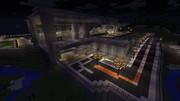 【Minecraft】空港 - 外観その4(完成・夜景)