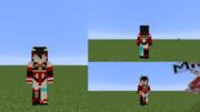 【Minecraft 10分スキン】ケイオスドラゴン エィハ  参考画像