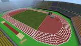 Minecraft peで陸上競技場を作ってみた2