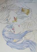 中学生がアナログで腐った絵を描いてみた。