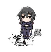 リタちゃんとペット(影)