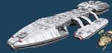 【MMD】宇宙空母作りかけ【進捗65%くらい】